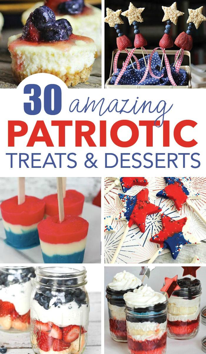 Amazing Patriotic Desserts