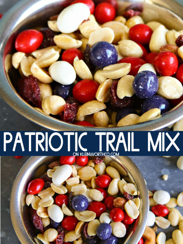 Patiotic Trail Mix