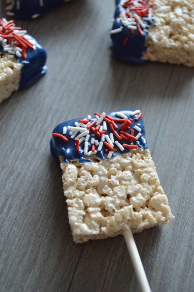 Patriotic Cereal Bars