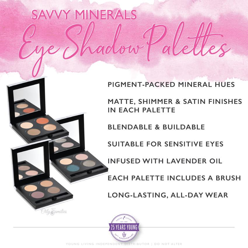 Savvy Minerals Eye Shadow Palettes