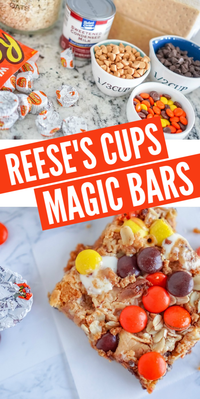 Reese's Cups Magic Bars