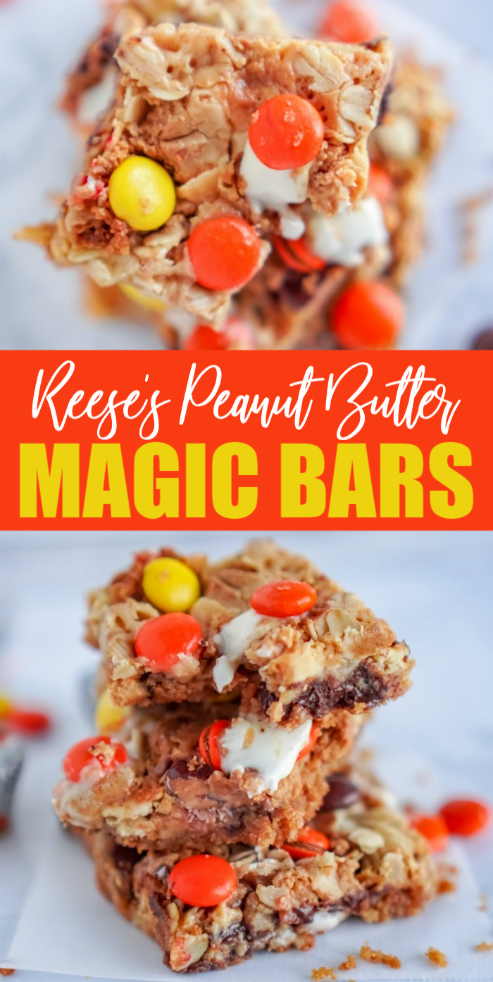 Reese's Peanut Butter Magic Bars Easy Dessert
