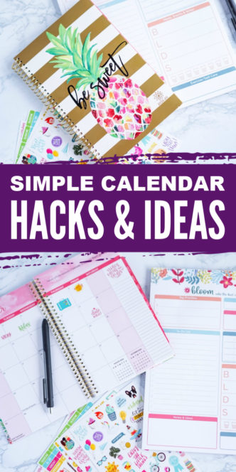 Calendar Hacks and Ideas