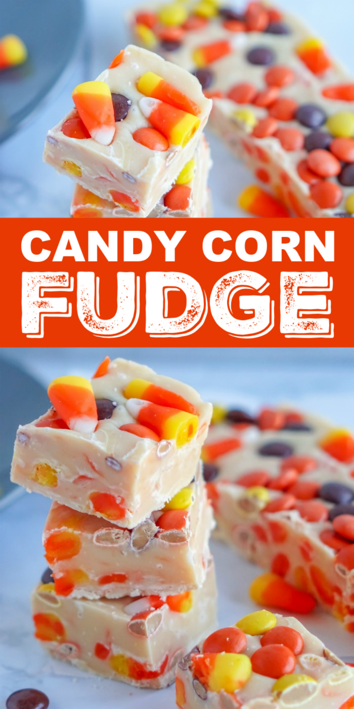 Candy Corn Fudge Recipe
