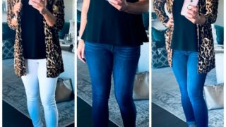 Leopard Print Transition Outfits for Fall!