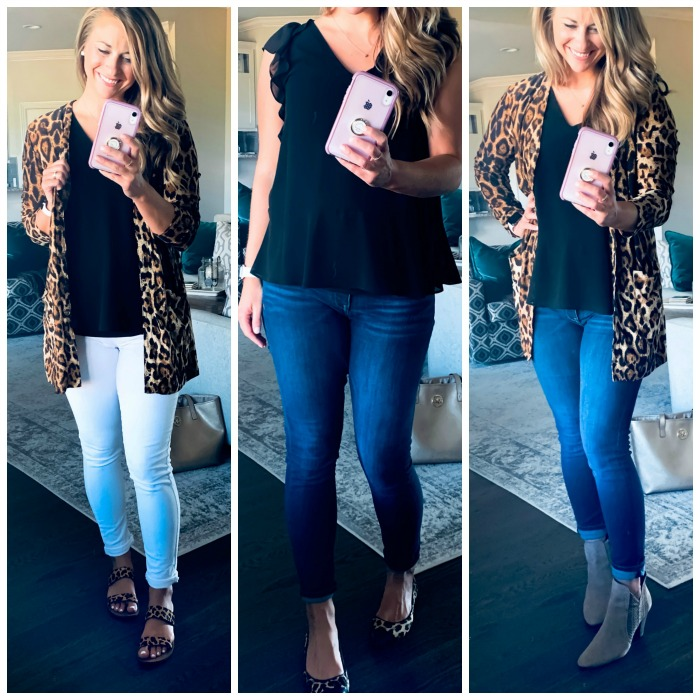 Leopard Print Transition Outfits for Fall