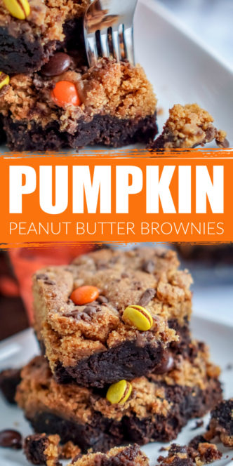 Pumpkin Peanut Butter Bars