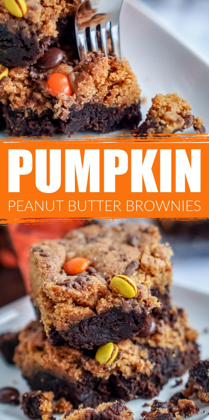 Pumpkin Peanut Butter Bars