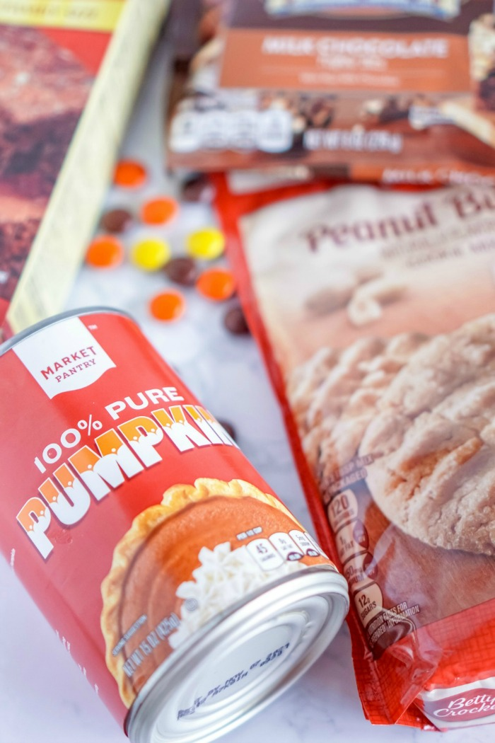 Pumpkin in a Can for Brownies