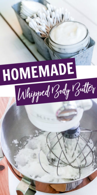 Easy Homemade Whipped Body Butter