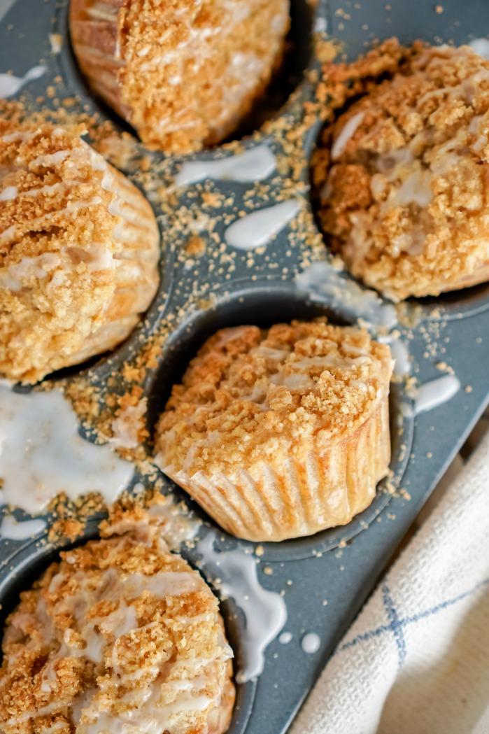 Banana Bread Muffins In Pan