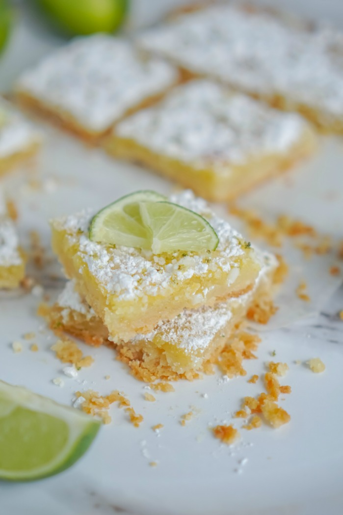 Simple Lime Bars