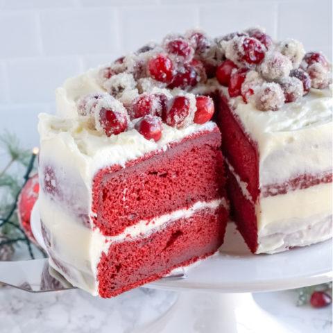 Simple Red Velvet Cake Recipe!