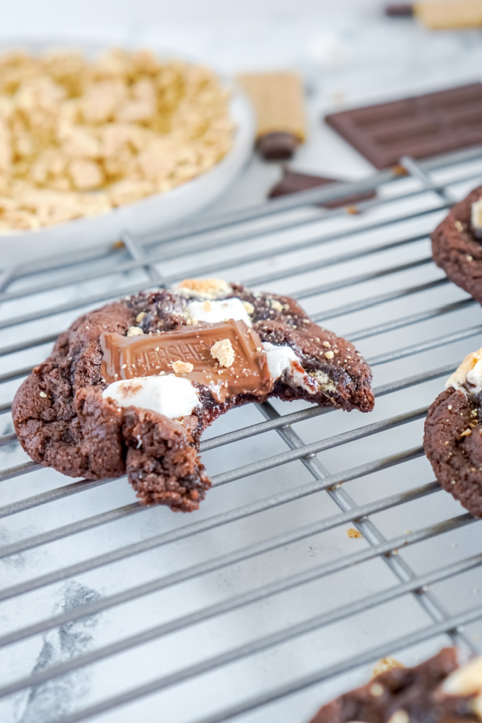 Chocolate S'mores Cookie Easy Recipe