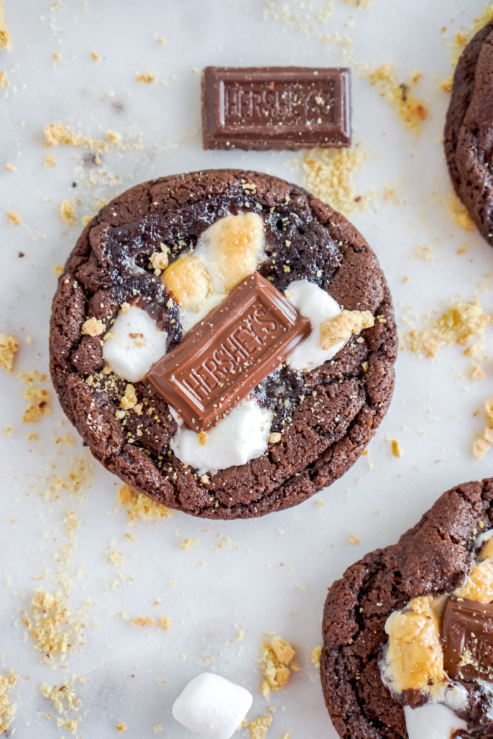 Hershey's S'mores Cookies