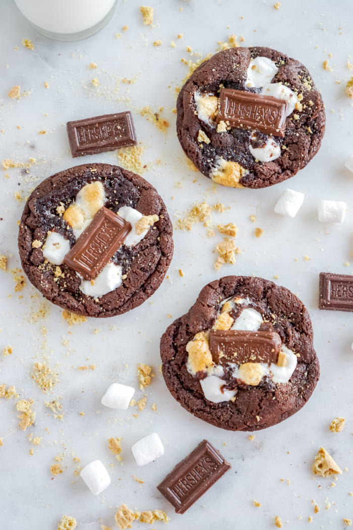 Easy S'mores Cookies