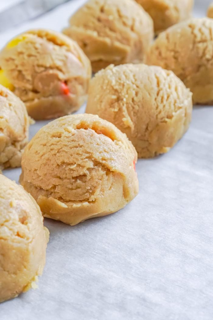 Reese's Peanut Butter cookie dough balls