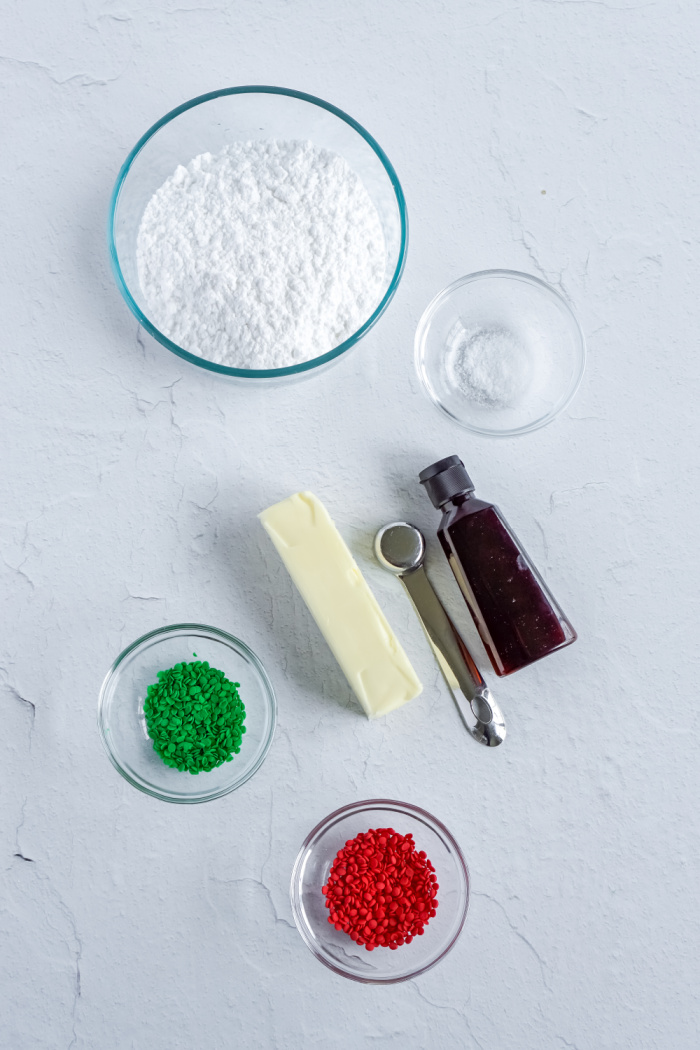 Homemade Icing Ingredients